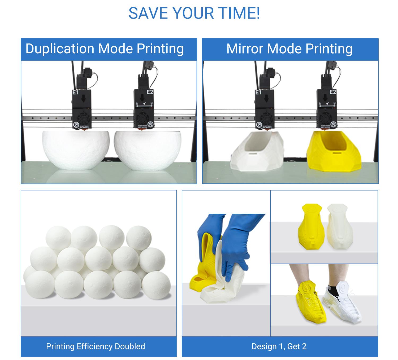 TL-D5 Duplication & Mirror Mode Printing