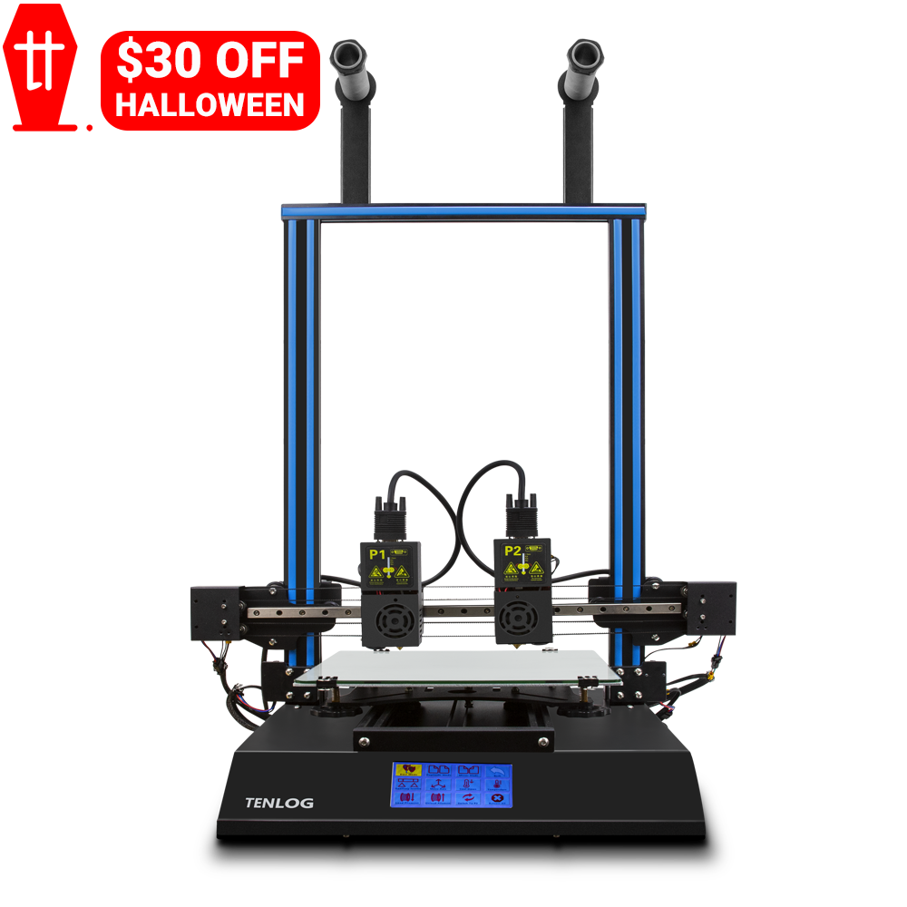 US $30 OFF Tenlog D3 Pro Dual Extruder 3D Printer On Sale at Discount Price