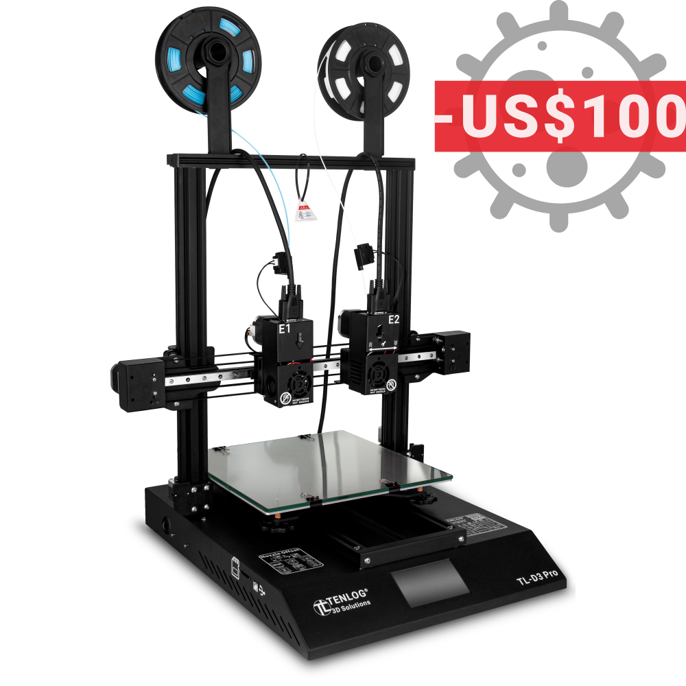 Fighting COVID-19 TL-D3 Pro $100 OFF for USA Tenlog 3D STAND WITH YOU!