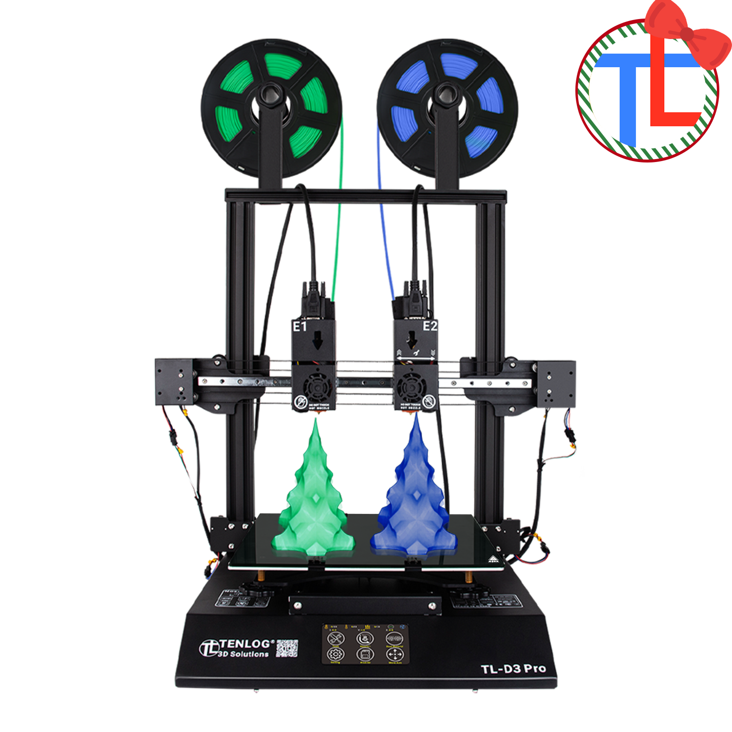 Merry Christmas, TL-D3 Pro USD $120 OFF, Get IDEX 3D Printer Now